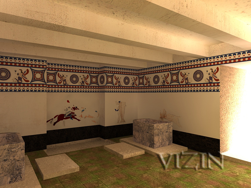Bathroom Kings til barsib - archaeological recreations and simulations - the