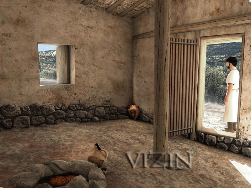 Ancient Greek Architecture Dining Room
